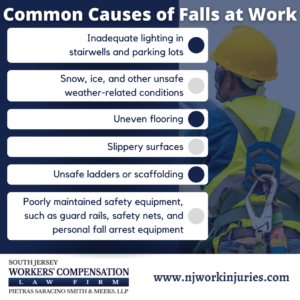 Common Causes of Falls at Work